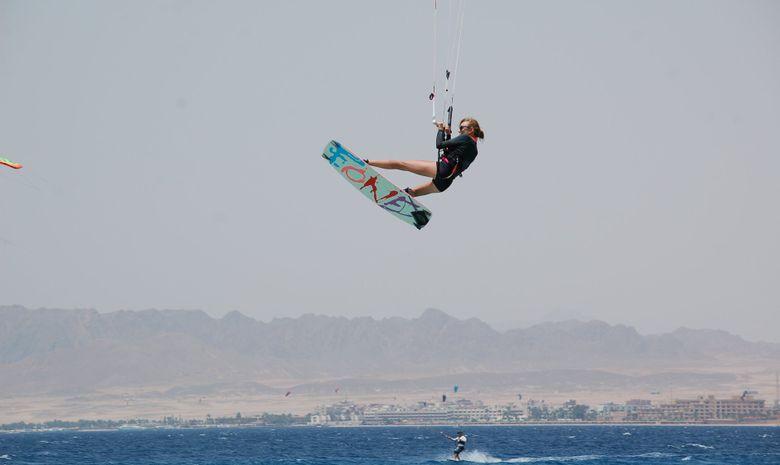Stage de kitesurf en formule privée en Egypte-5
