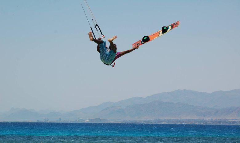 Stage de kitesurf en formule privée en Egypte-9