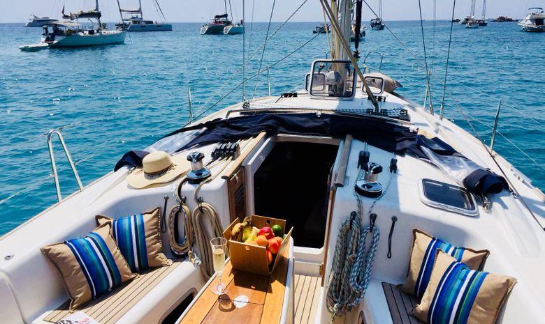 Croisière voilier dans les Îles Grenadines-12