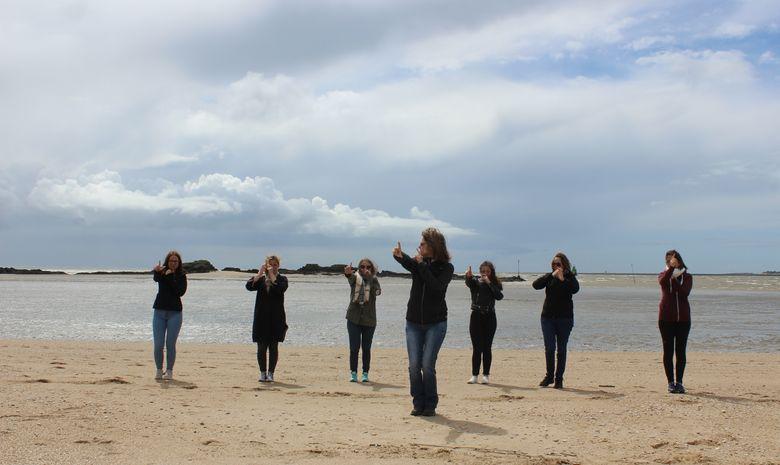 Week-end yoga & marche afghane en Bretagne Sud