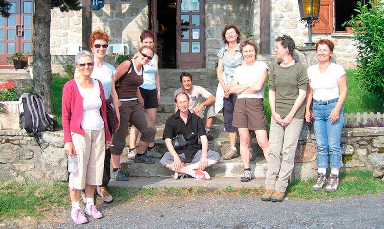 Stage yoga et randonnée sur les Monts d'Aubrac -3