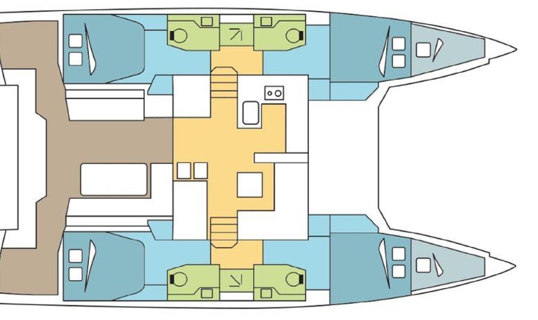Grande croisière : les Grenadines en catamaran -10