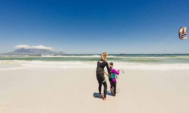 Stage de kitesurf à Cape Town-12