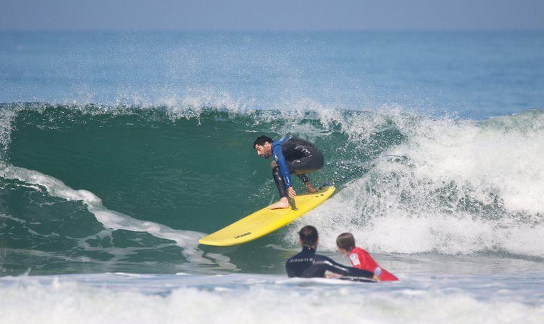 Stage de Surf à la Plage de la Madrague-6