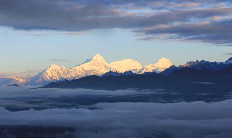 Hauts Plateaux du Langtang en bivouac - sans sac-7