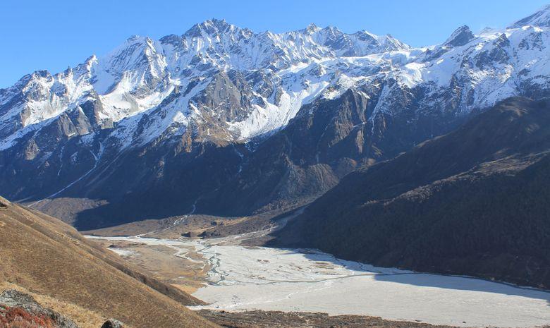 Hauts Plateaux du Langtang en bivouac - sans sac-1