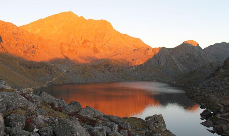 Hauts Plateaux du Langtang en bivouac - sans sac-9