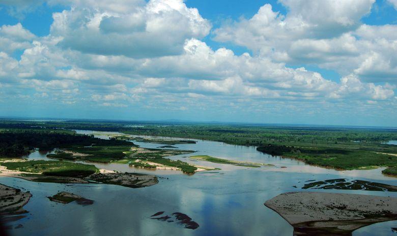 La rivière Rufiji du Parc de Selous