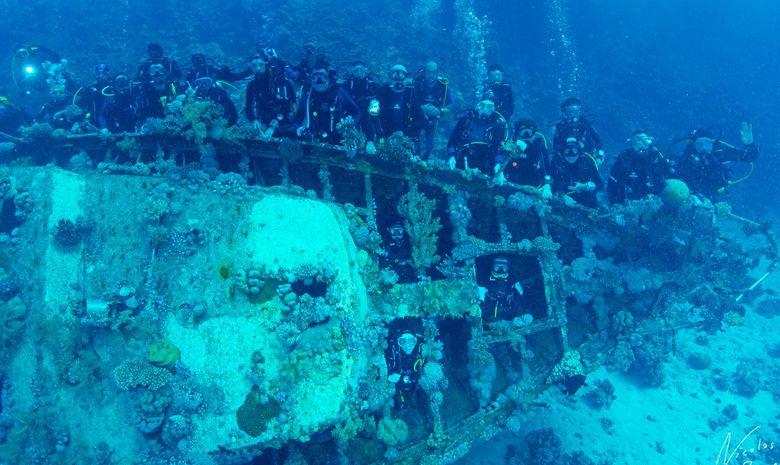 Croisière plongée au célèbre Saint John's Reef -2