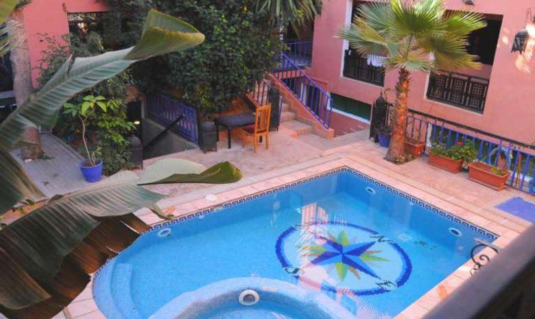 Surfcamp en riad avec piscine à Tamraght