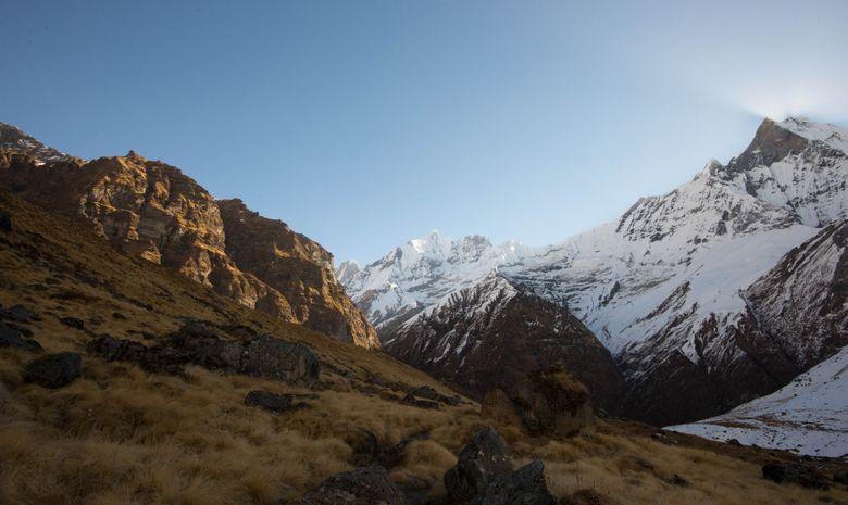 Le Machapuchare et l'Annapurna III