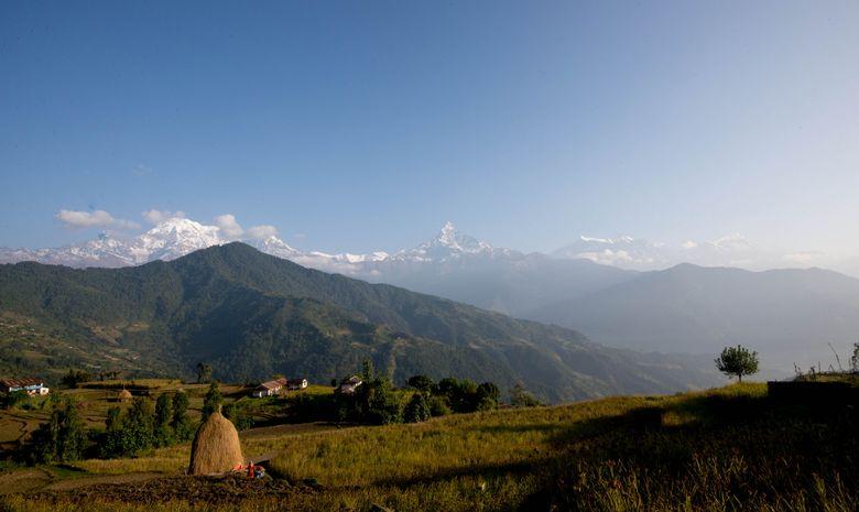 Le Machapuchare et la face Sud de l'Annapurna