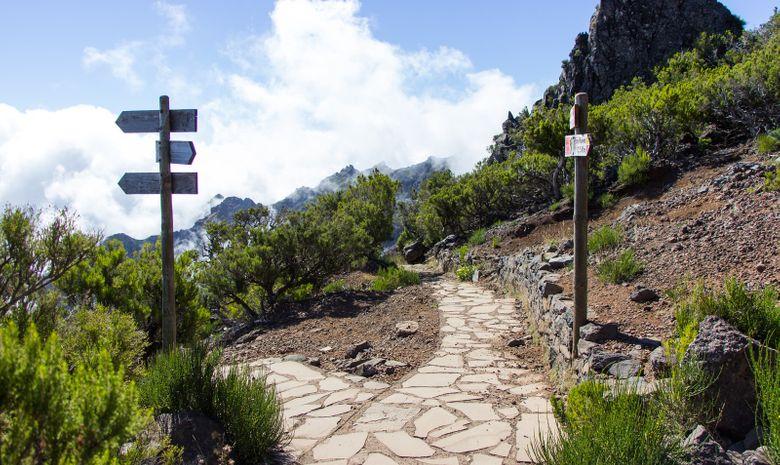 Chemin du Pico Ruivo
