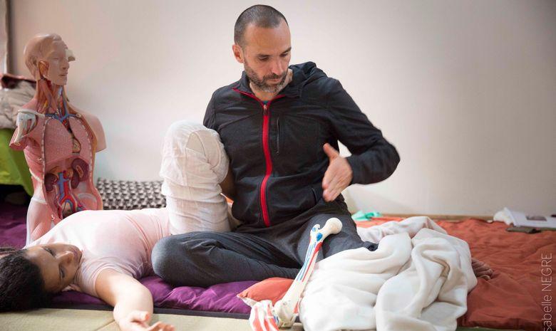 Stage de formation Thaï Yoga Massage en Bretagne