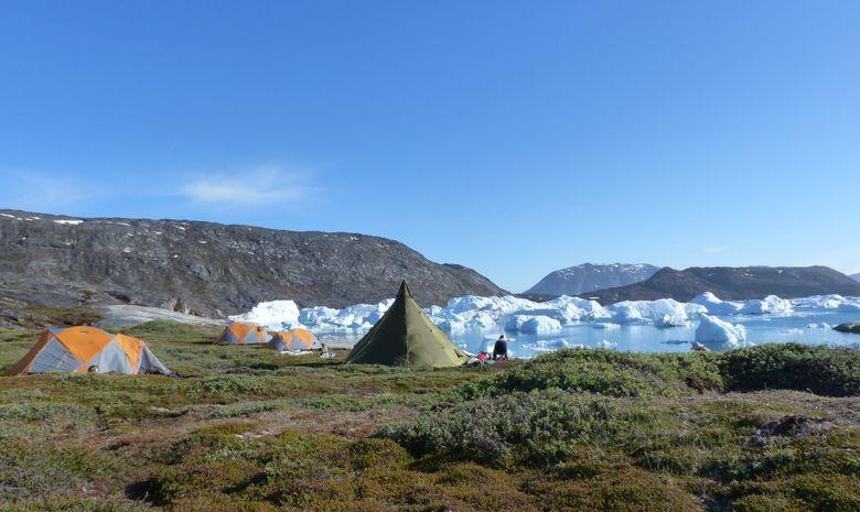 Trek au royaume des glaces