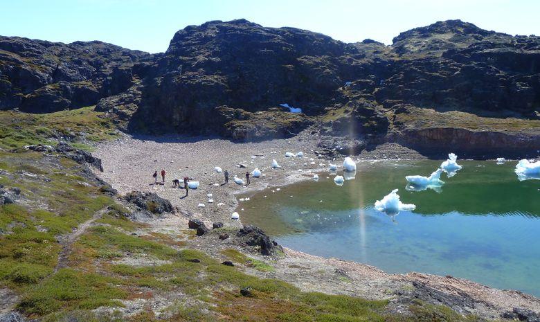 Randonnée sur l'île de Disko