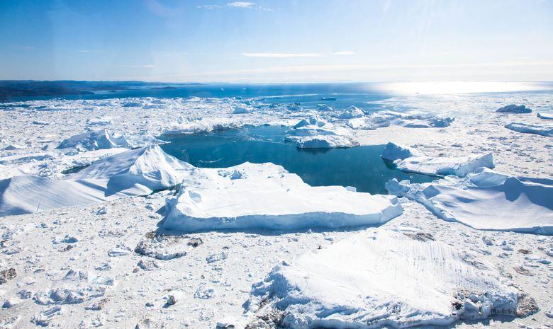Raid ski de rando au Groenland, objectif inlandsis