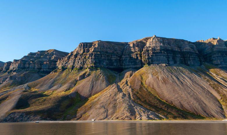 Les magnifiques plateaux de Skansbukta