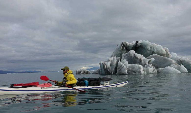 Les 5 glaciers de Spitzberg en kayak et randonnée