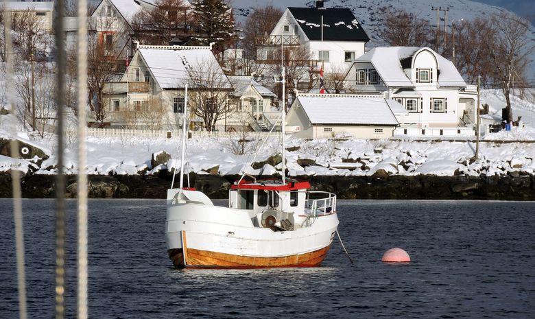 Bateau de pêche norvégien