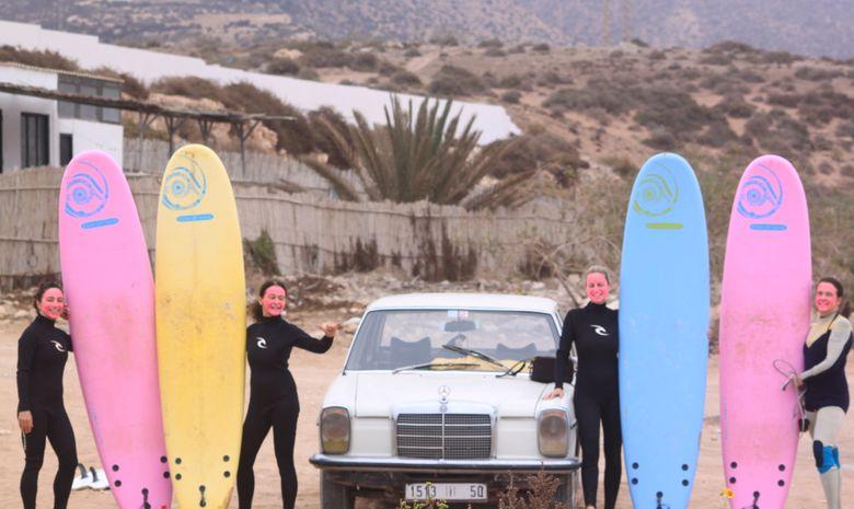 Séjour intensif en surf camp