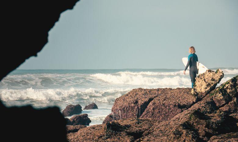 Surfcamp intensif en maison berbère à Tamraght