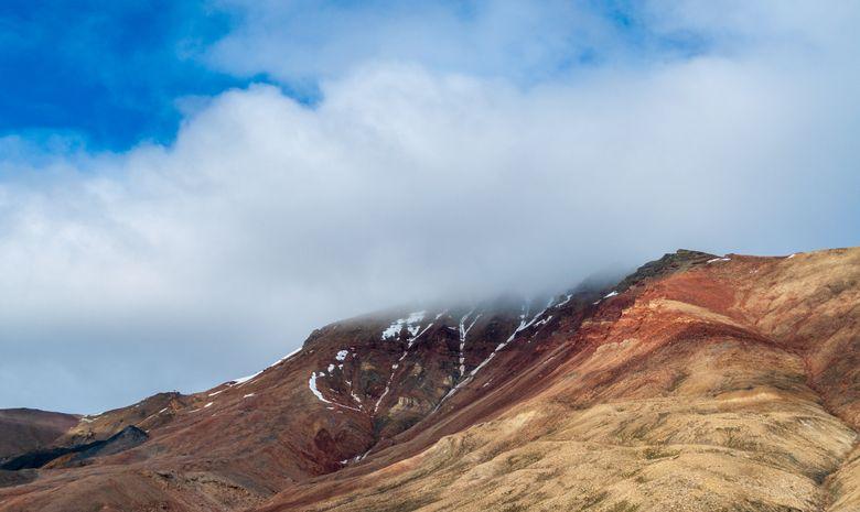 De magnifique montagne à gravir