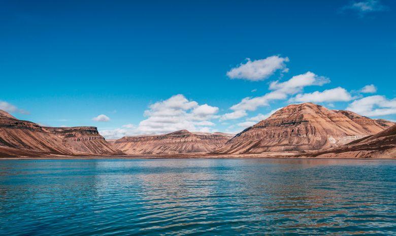 Magnifique baie de Skansbukta