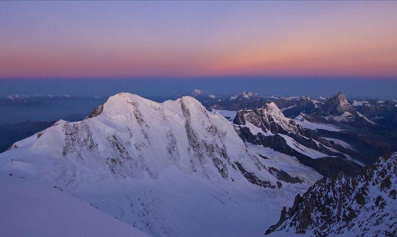 Stage à 4000 mètres d'altitude autour du Mont Rose