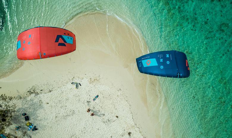 Croisière cabine Kitesurf autour de la Guadeloupe