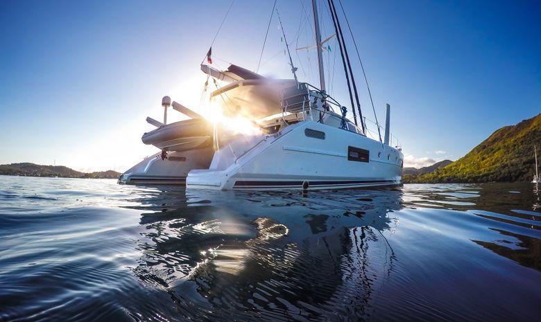 Croisière privée en Guadeloupe - catamaran 45'