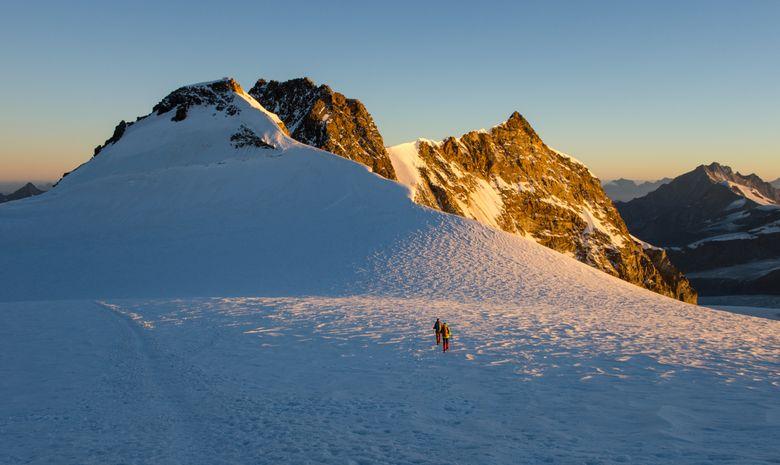 Ascension de la Pointe Dufour - Mont Rose