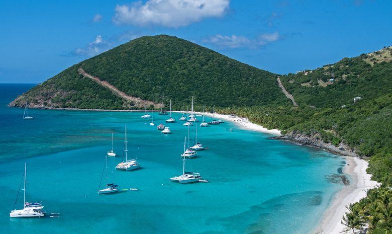 Les Îles Vierges en catamaran - Départ de Marigot