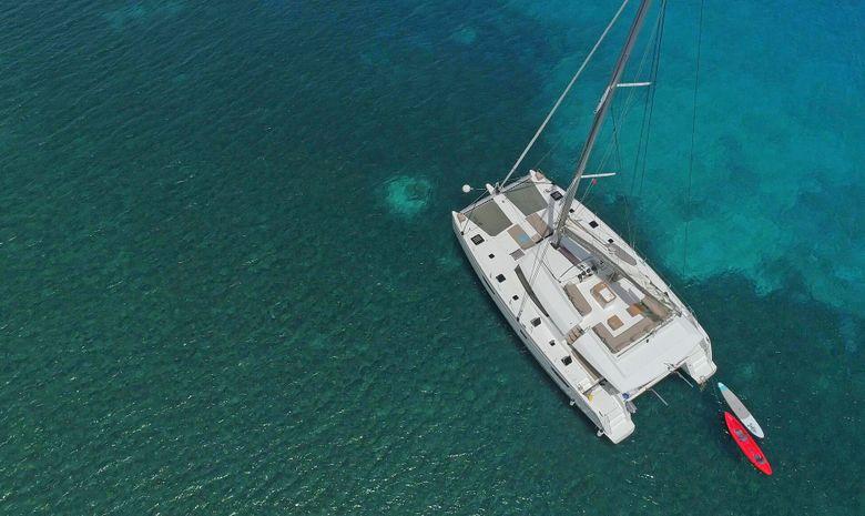 Croisière cabine aux Grenadines - catamaran 58'
