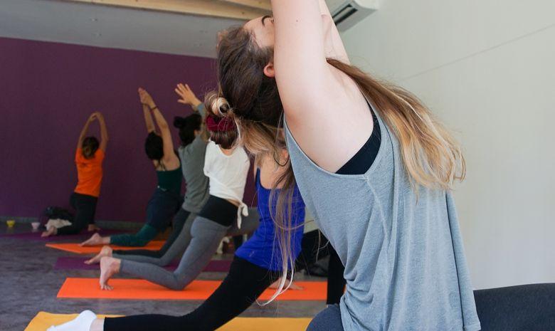 Séance de yoga - Vinyasa