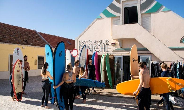 Leçons de surf à Peniche