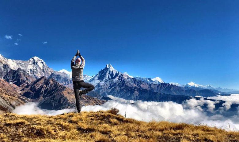 Trek et Yoga au pied de l'Everest
