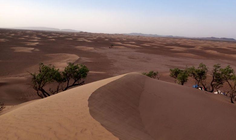 Yoga & Méditation à travers le désert au Maroc