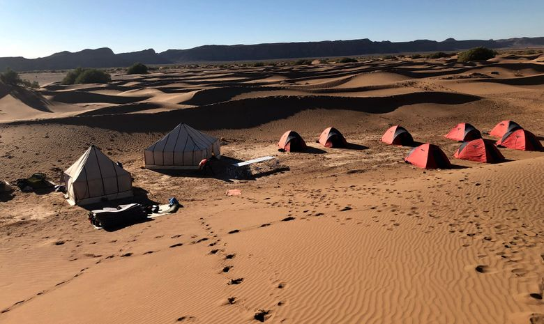 Retraite Yoga & Méditation dans le désert au Maroc