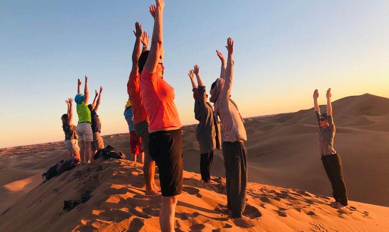 Retraite Yoga & Trek dans le désert au Maroc