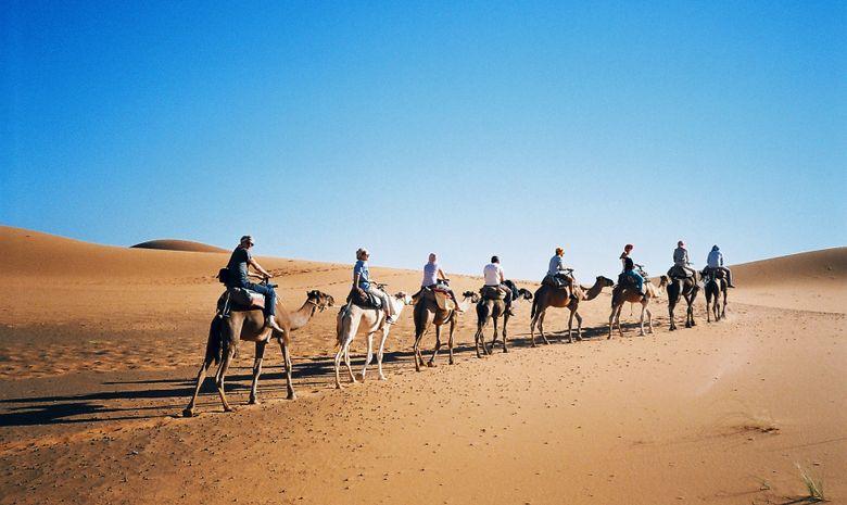 La caravane du désert - trek en groupe