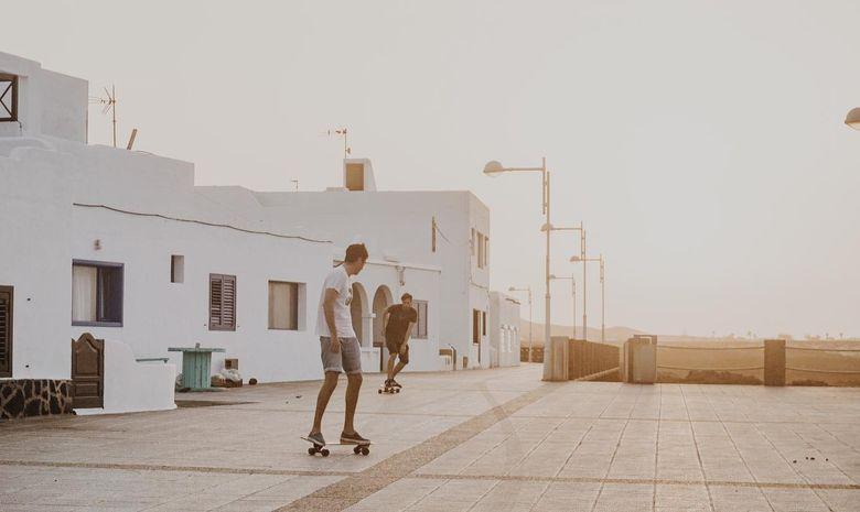 Séjour Surf & Longboard skate à Lanzarote