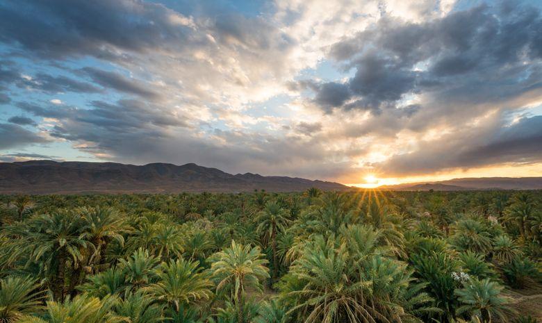 Aux portes du désert marocain - trek en groupe