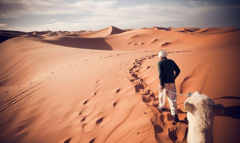 Trek au cœur du Sahara - trek en groupe