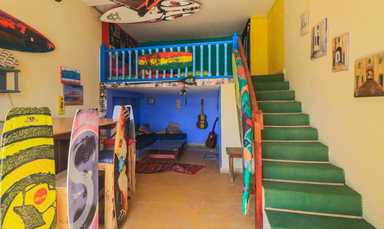 Séjour de Kitesurf en Surfhouse à Essaouira