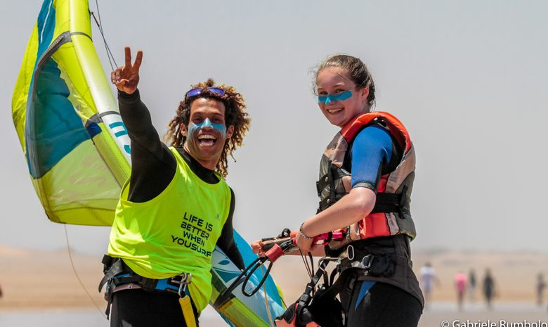 Kitesurf camp in Morocco