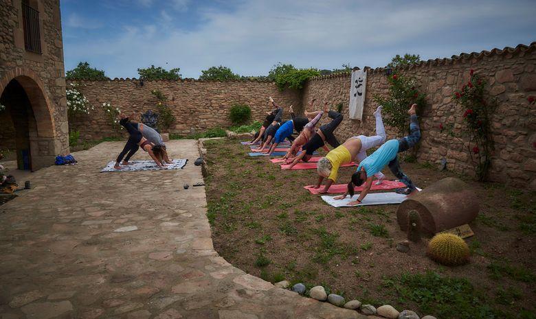 Retraite Yoga dans un vignoble proche de Barcelone