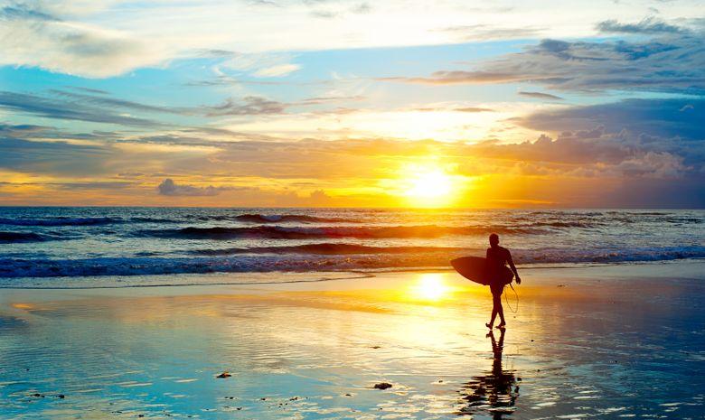 Surfcamp au cœur des rizières au Sud de Bali