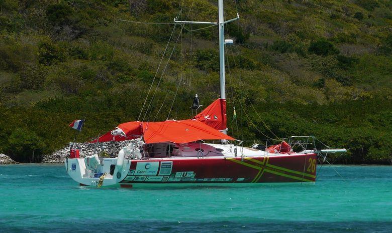 Etape : Bermudes - Açores en Jumbo 40'
