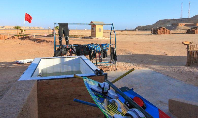Séjour Kitesurf autonome en bungalow à Dakhla